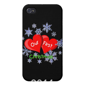 Our First Christmas iPhone 4/4S Covers