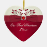 Our First Christmas Keepsake Ornament