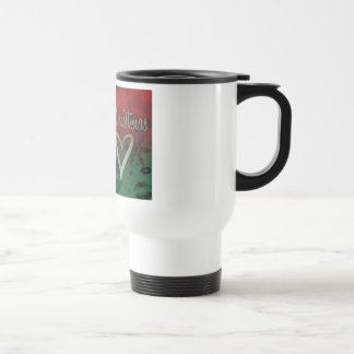 OUR FIRST CHRISTMAS COFFEE MUGS