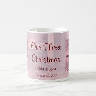 Our First Christmas Mug