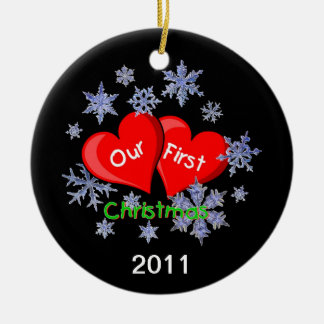 Our First Christmas Christmas Tree Ornament
