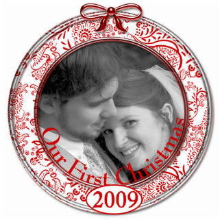 Our First Christmas Ornament 2009