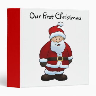 Our First Christmas - Photo Album Binder