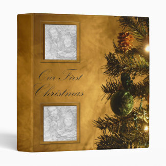 Our First Christmas, photo binder