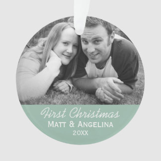 Our First Christmas Photo - Wedding or Engagement