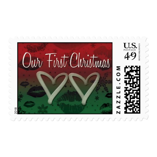 Our First Christmas Postage