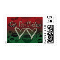 OUR FIRST CHRISTMAS POSTAGE STAMPS