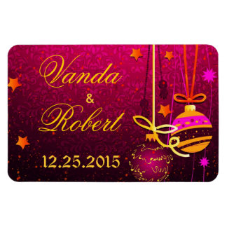Our first Christmas Rectangle Magnet