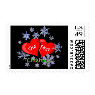 Our First Christmas Stamp