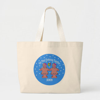 Our First Christmas Together 2009 (GLBT Women) Canvas Bags