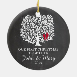 our first christmas ornaments zazzle