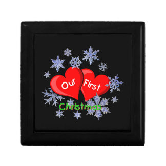 Our First Christmas Trinket Boxes