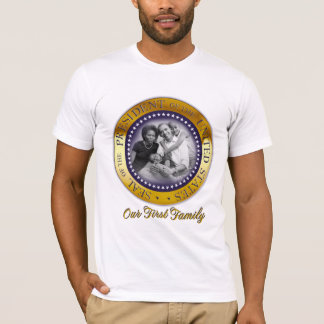 Our First Family, President Barack Obama T-Shirt