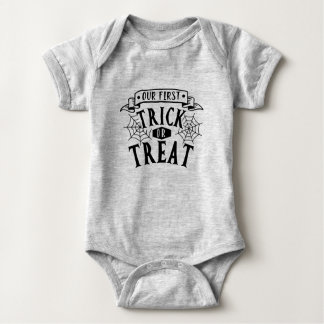 Our First Halloween Baby Bodysuit