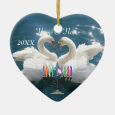 Our First Hankkah Ornament 2012 Personalized at Zazzle