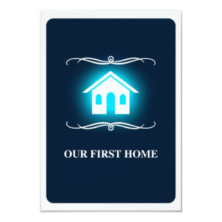 our first home (mod home) card