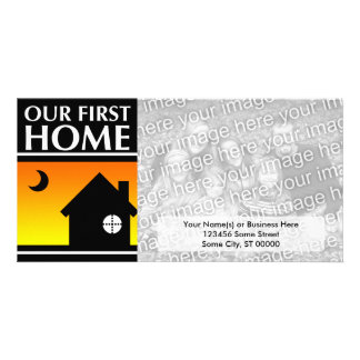 our first home (mod sunrise) card
