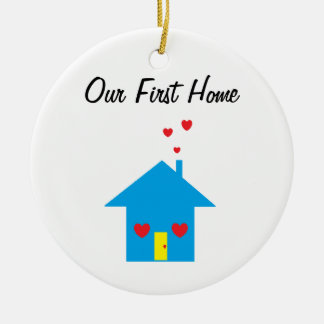 """""""Our First Home"""" Ornament"""