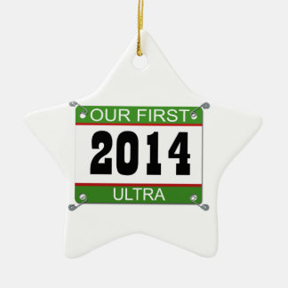 Our First Ultra Ornament - 2014