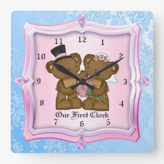 Our First Wedding Clock