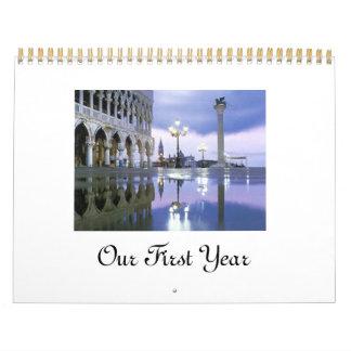 Our First Year Calendar