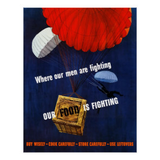 Our Food Is Fighting Poster