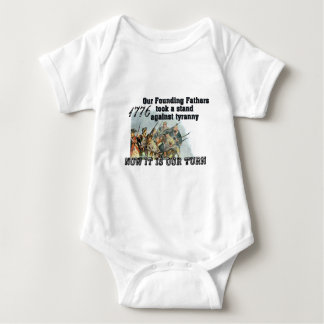 Our Founding Fathers against tyranny Baby Bodysuit