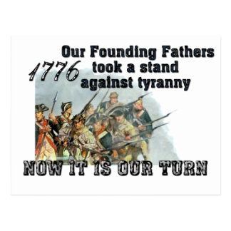 Our Founding Fathers against tyranny Post Card