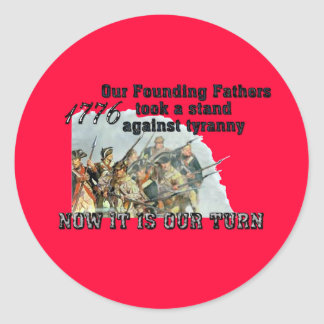 Our Founding Fathers against tyranny Stickers