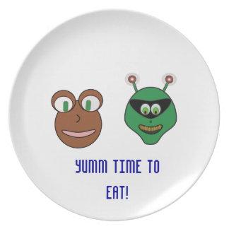 our friends plates