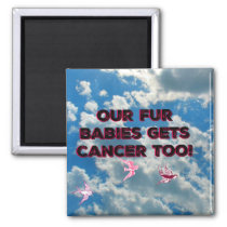 Our Fur Babies Get Cancer Too Magnet