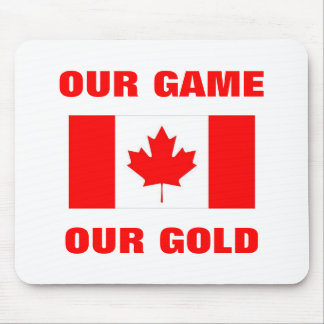 OUR GAME OUR GOLD MOUSEPAD