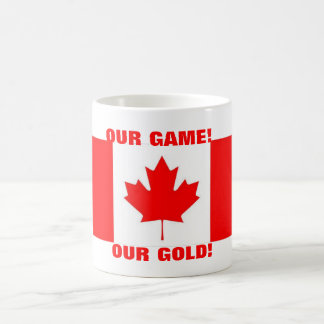 OUR GAME! OUR GOLD! MUGS