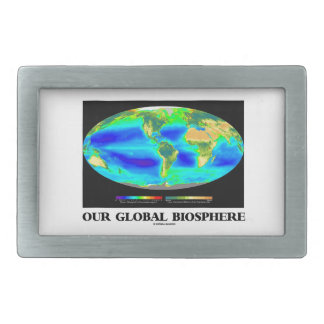Our Global Biosphere (Global Photosynthesis) Belt Buckle