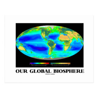 Our Global Biosphere (Global Photosynthesis) Postcard