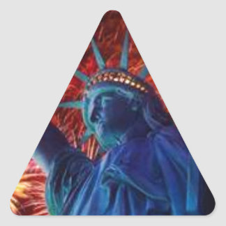 OUR GLORIOUS LADY TRIANGLE STICKER