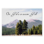 Our God is an awesome God! Print