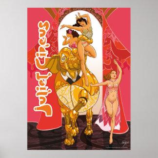 Our Golden Elephant - Juliet Circus Poster