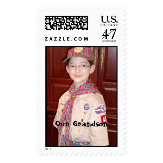 Our Grandson the Webelo Postage