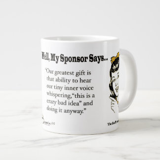 Our Greatest Gift is that ability to hear... Large Coffee Mug