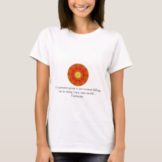 Our greatest glory is not in never falling, but... T-Shirt