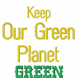 Our Green Planet Official Staff Shirt Embroidered Shirt