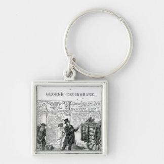 Our Gutter Children, 1869 Keychain