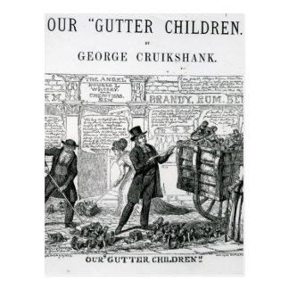 Our Gutter Children, 1869 Postcard