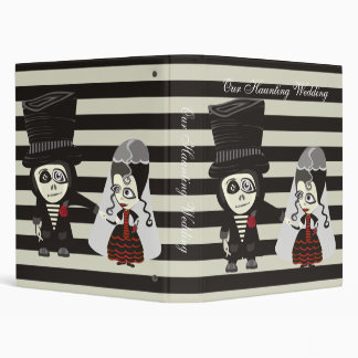 Our Haunting Wedding 3 Ring Binder