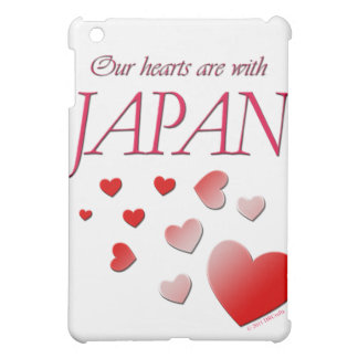 Our hearts are with Japan Cover For The iPad Mini