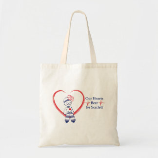 Our Hearts Beat for Scarlett budget bag