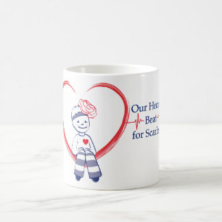Our Hearts Beat for Scarlett Mug