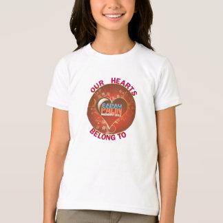 Our Hearts Belong to Sarah Palin T-Shirt