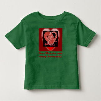 Our Hearts toddler shirt